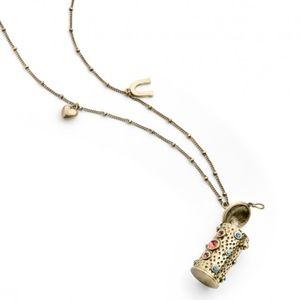 Jewelmint Long Vintage Charm Necklace